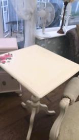 Flip top table..