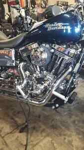 2001 dyna superglide with ss top end $7500 or best offer London Ontario image 2
