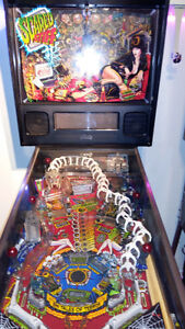 machine a boule Scared Stiff pinball huo incroyablement!!