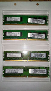 DDR2 667Mhz 4GB Kit