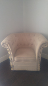 Beautiful, beige side chairs! 350 for both!!!