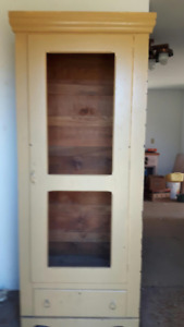 A Beautiful Rustic Looking Storage/Closet Cabinet, $200 obo