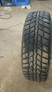 Four 195 65 R15 Tire and Rims for a 2012 Honda civic