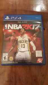 NBA 2k17 PS4 Playstation 4 MINT
