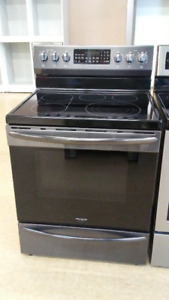 Frigidaire Gallery Black Stainless Electric Smooth Top Range