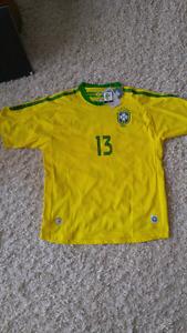 Brazil soccer jersey.