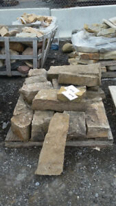 looking to sell off overstock and miscellaneous stone,interlock