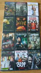 Lot of 12 DVDs