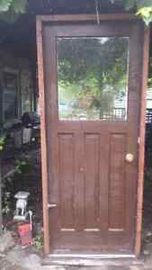 Solid Wood Door and Frame Cornwall Ontario image 1
