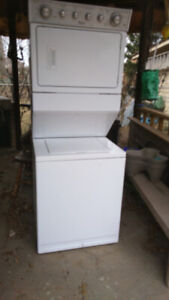 WHIRLPOOL STACKABLE WASHER AND DRYER
