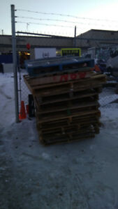 Wood Pallets for Free!