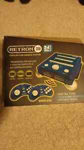 RETRON 3 GAME CONSULE AND GAMES