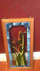 Beautiful stained glass cattails! London Ontario image 1