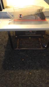 """8 1/4"""" portable table saw"""