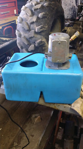 Coolant  pump and tank made by Flair