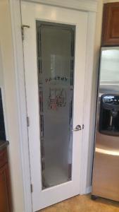 Pantry Door With Glass Window