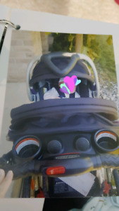 Baby stroller with carrier