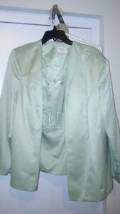 Beautiful Mint green mother of the bride/groom dress