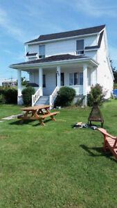 Maison à louer bord de mer,  Gaspésie