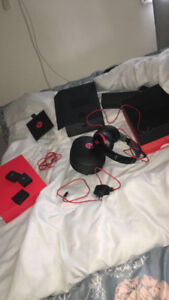 BEATS 2.0 studios  RED AND BLACK EDITION