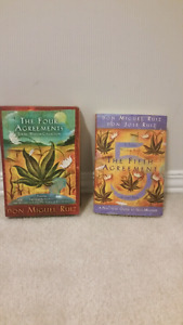 Pack of 3 Four Agreements book set & fifth agreement book!!!