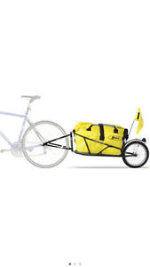 Bob bicycle cargo trailer