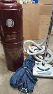 used central vac and accessories