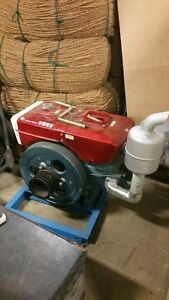 New 21 HP Diesel Engine with V-belt pulley