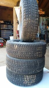 4 Federal 185/65R14 86T Winter tires
