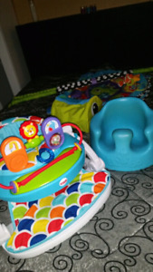 Baby Chairs and Grow with me ball pit.