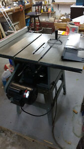 Etexcellen condition made by King table saw 10 inch 220\110 volt