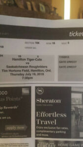 Save $40.00 on TICATS vs Roughriders excellent seat