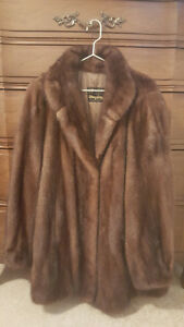 PRISTINE CANADIAN MADE MINK COAT
