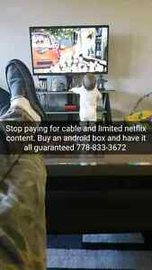 NO MONTHLY BILL NO MORE CABLE !! FREE TV MOVIES , Pay Per View!