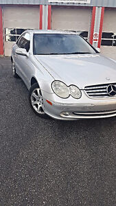 2003 Mercedes-Benz CLK 320 SAFETY/ETESTED ALSO QUEBEC SAFETIED!!