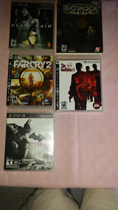 Playstation 3 games lot for sale !!