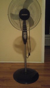 Black 3 Speed Fan with Round Base $ 20