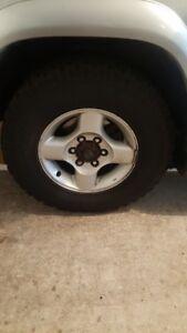 Nissan X-Terra/Frontier/Pathfinder tires w/rims