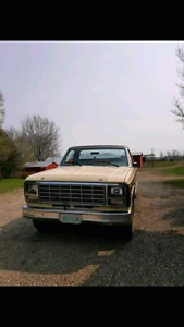 1980 Ford F100 cash or trade for a standard vehicle!!