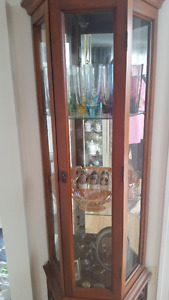 Curio collectible display cabinet for only $200!