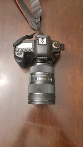 Canon 5d mark II with sigma 24-35mm lens