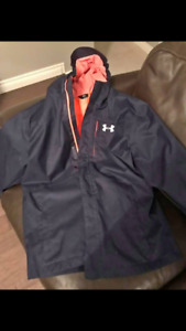 Boys xlarge under armour winter jacket
