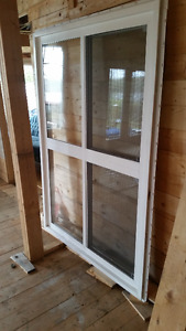 """47.5"""" x 69"""" Double-Hung Exterior Window"""