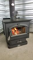 Wood stove used 4 months Brand new condition
