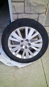 Mazda 6 Rims with Tires - Set of 4 - All Seasons - Good tread