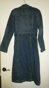 Guess Jean Trench Coat
