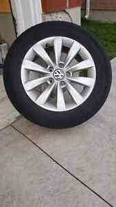 VW Pasat rims and tires