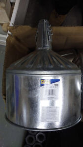 Heavy Duty Funnel -  Galvanized -    Retails for $40