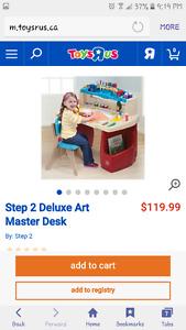 Step 2 art desk
