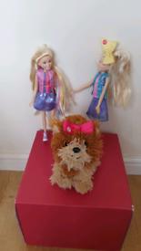 Jojo Siwa Singing Boomerang song & jo jo Fashion Doll & bowbow dog pup